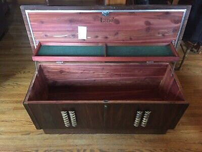 Beautiful Antique Vintage LANE Cedar Hope Chest 1973 Lock Removed but included