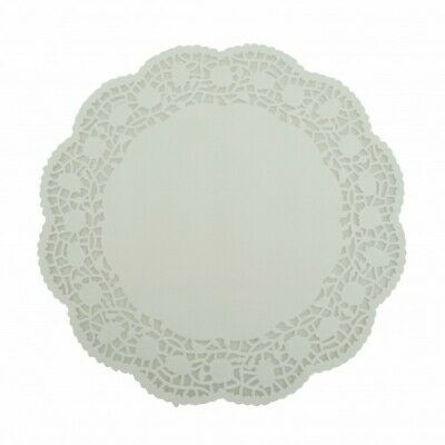 NEW White Lace Doilies - 275mm - PACKET(250) - Kent Paper