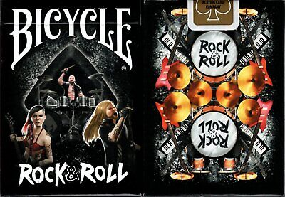Rock & Roll Bicycle Playing Cards Poker Size Deck Custom Limited Edition Sealed