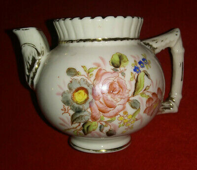 "Antique Miniature Teapot Childs Toy Germany Vintage 3"" Tall"