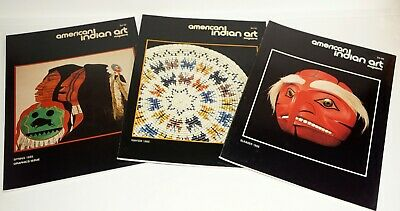 American Indian Art ~ 1985 ~  3 Issues ~ Excellent Condition ~ Quality Print