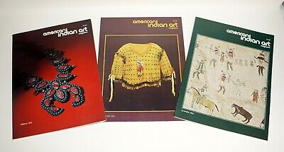 3 Issues ~ American Indian Art ~ 1982 ~  Great Condition ~ Quality Publication