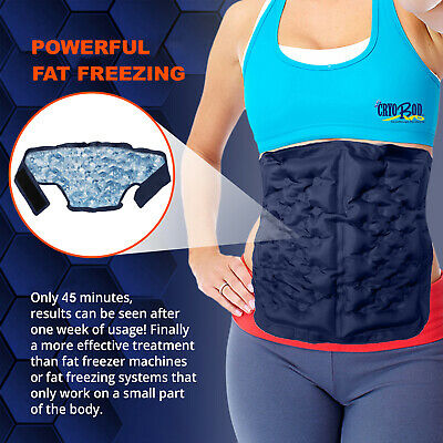 Fat Freezing Belt-Effective Fat Loss-Cellulite Reduction- Easy Belly Fat Burner
