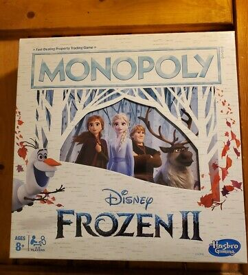 Monopoly Game: Disney Frozen 2 Edition Board Game for Ages 8 & Up, New