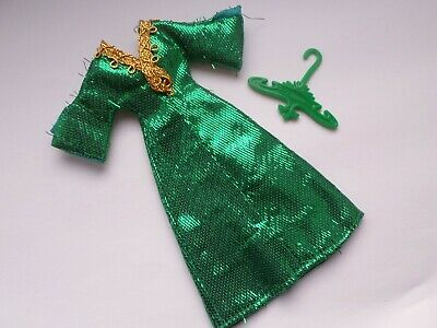 Topper Dawn (Palitoy Pippa) doll  outfit - Green Slink
