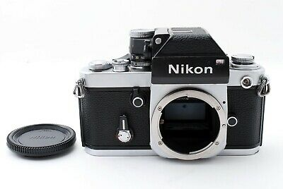 Nikon F2 Photomic DP-1 35mm SLR Film Camera Silver Body Only [Exc++] #544055A