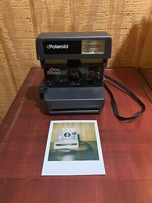 Vintage Polaroid 600 Series Instant Film Camera One Step - Tested And Working
