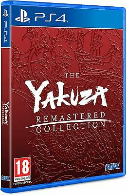 The Yakuza Remastered Collection  3 4 5   Versione Ufficiale Italiana Nuovo Ps4