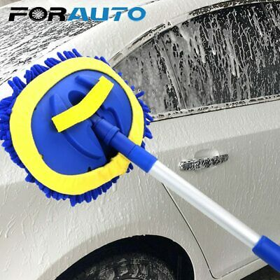 Car Cleaning Brush Telescoping Long Handle Auto Accessories Car Wash FORAUTO