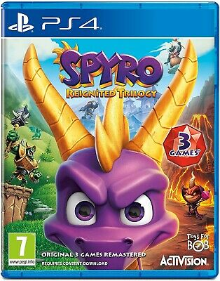 Spyro Reignited Trilogy (PS4) NEW