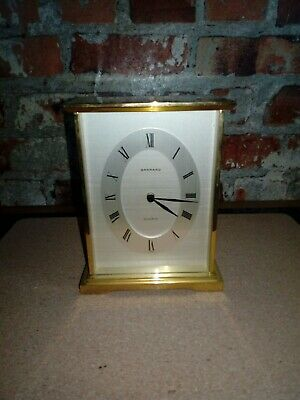Garrard Brass Carriage Clock. Quartz.pre Owned.