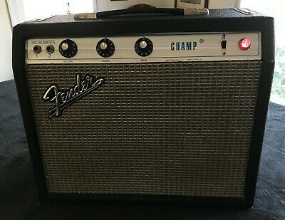 1972 Fender Champ, silverface AA764, A+ condition