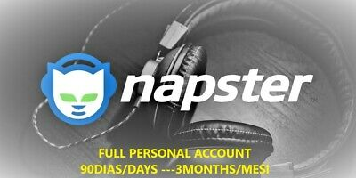 💥 NAPSTER Account ✔️ 💯LEGIT | Exclusive Not Shared 💯Warranty