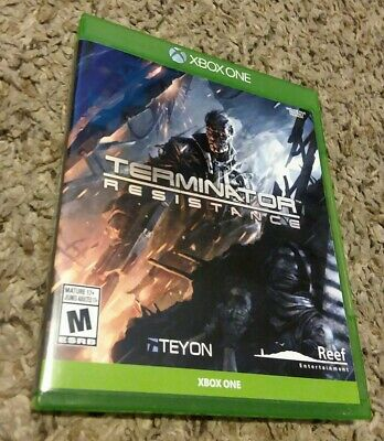 Terminator resistance Xbox One complete very rare limited physical print cib