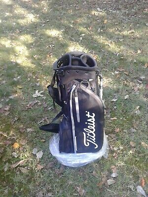 Titleist Players 4 Plus Golf Carry Stand Bag New Tb9Sx1 Black White Grey 4+ New