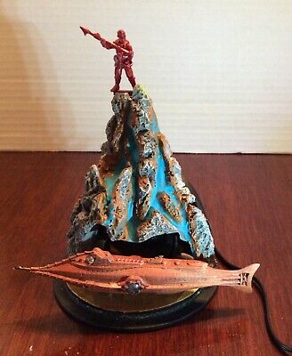 Custom made DISNEY NAUTILUS SCULPTURE of 20,000 LEAGUES UNDER THE SEA lights-up