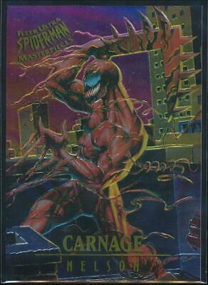 1995 Spider-Man Premiere Masterpieces Trading Card #2 Carnage