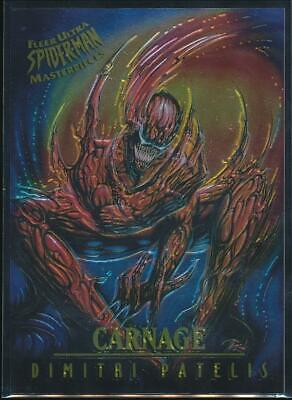 1995 Spider-Man Premiere Masterpieces Trading Card #3 Carnage