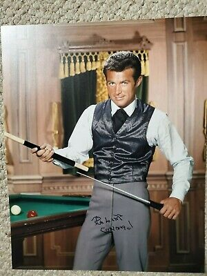 Robert Conrad Rare Signed 11X14 Photo Baa Baa Black Sheep Wild Wild West Rare!!!