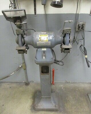 BALDOR GRINDER on STAND, Cat. No. 8107WD, USED - LOCAL PICKUP ONLY