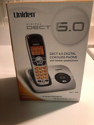 UNIDEN DECT1560-2  1.9GHz DIGITAL CORDLESS PHONE BASE ONLY