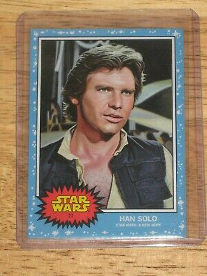 Star Wars Living Set Han Solo #21 Topps On Line Exclusive Long Sold Out Mint