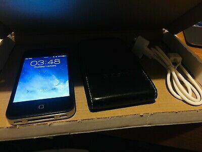 Iphone 4 - 16Gb Unlocked - Supplied with Pdair Leather Case