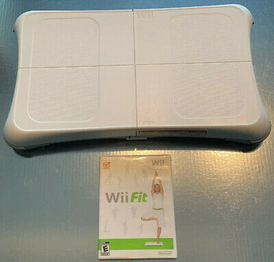 NINTENDO Wii FIT BALANCE BOARD BUNDLE with Wii FIT GAME!