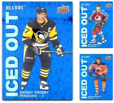 2019-20 UD Allure ICED OUT **** PICK YOUR CARD **** From The LIST