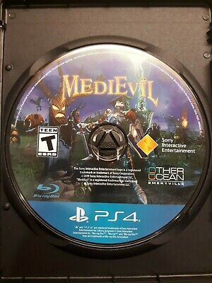 MediEvil PS4 *Preowned *Fast shipping *Disk only