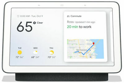 NEW Google Home (Nest) Hub Smart Home Controller Charcoal [AU STOCK]