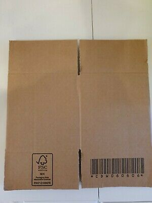 DOUBLE WALL - STRONG REMOVAL MAILING CARDBOARD BOXES CARTONS 6 X 6 X 6.5 inches