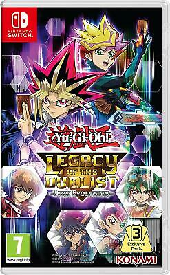 Yu-gi-oh Legacy Of The Duelist (Switch)