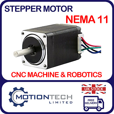 Stepper Motor Nema 11 28BYGH501 0.67A 1200 Kg.cm CNC Machine Robotics 3D Printer