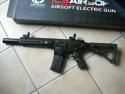 Air Soft  Ics-262 Cxpuk1 Semi Full Automatic Noir Servis 2X Canon De Precision