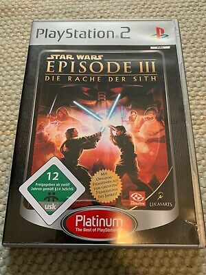 Star Wars: Episode III - Die Rache der Sith (Sony PlayStation 2, 2006, DVD-Box)