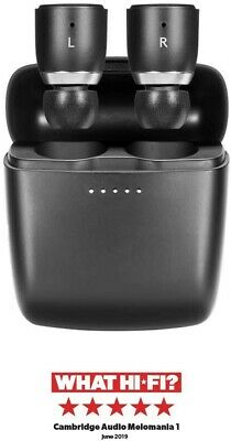 Cambridge Audio Melomania 1 True Wireless Earbuds - 45 Hours Battery S, Black