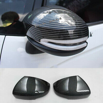 UNIQUE REAL 3D GLOSSY CARBON FIBER B-PILLAR COVER FOR 12 BMW 3-SERIE F30 M3 F80