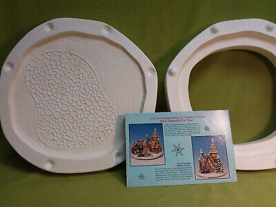 1988 Ceramichrome Dickens Village Small Base-C1826 ceramic mold
