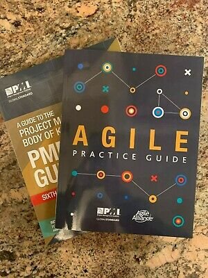 Agile Practice Guide & PMBOK PMI Guide 6th Edition 2018 Both For Sale