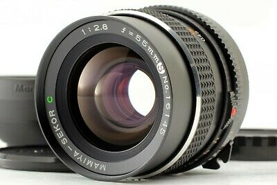 【Near MINT】 Mamiya Sekor C 55mm f2.8 S Lens for M645 645 w/ hood From JAPAN s241