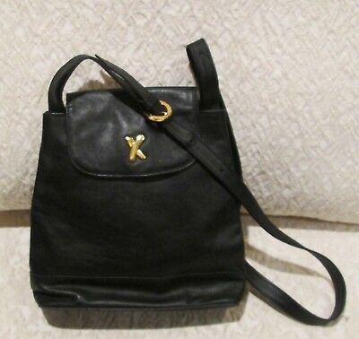 Vintage Paloma Picasso Black Leather