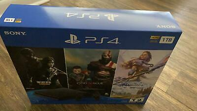 New SONY PLAYSTATION 4 PS4 SLIM 1TB CONSOLE PS4 3 GAME BUNDLE