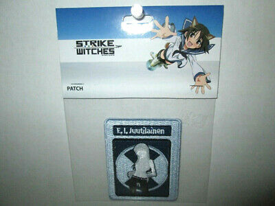 """Strike Witches Anime FRANCESCA Patch 3/"""" x 1.75/"""" Licensed GE Animation 2104"""