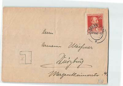 GERMANY 1947 24f COVER