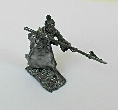 1/30 Ancient China Woman Warrior 5th c. BC Tin Metal Soldier 60 mm Girl figure