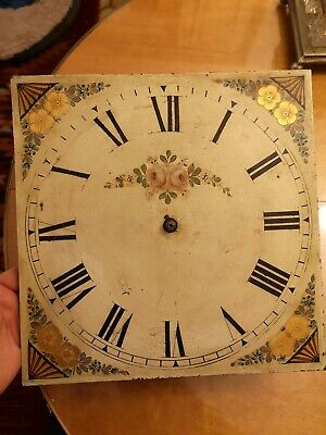 Painted Longcase Movement, grandfather clock. 30 hours
