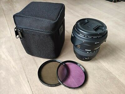 Sigma EX 10-20mm f/3.5 HSM EX DC Lens (Canon AF) FREE Filters and Bag