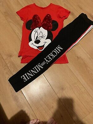 Disney Minnie Mouse Girls Outfit Age 11-12 Years