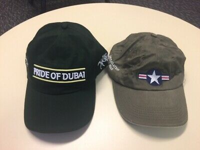 Two Coolmore Australia Stallion Horse Racing Caps.